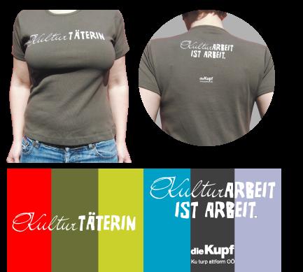 T-Shirts Kulturarbeit ist Arbeit Frauen