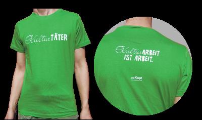 T-Shirts Kulturarbeit ist Arbeit Herren
