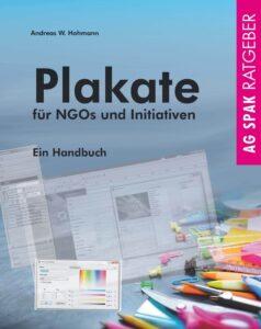 """Buchcover """"Plakate für NGOs und Initiativen"""""""
