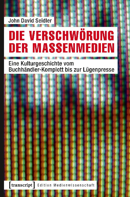 """Buchcover """"Die Verschwörung der Massenmedien"""""""