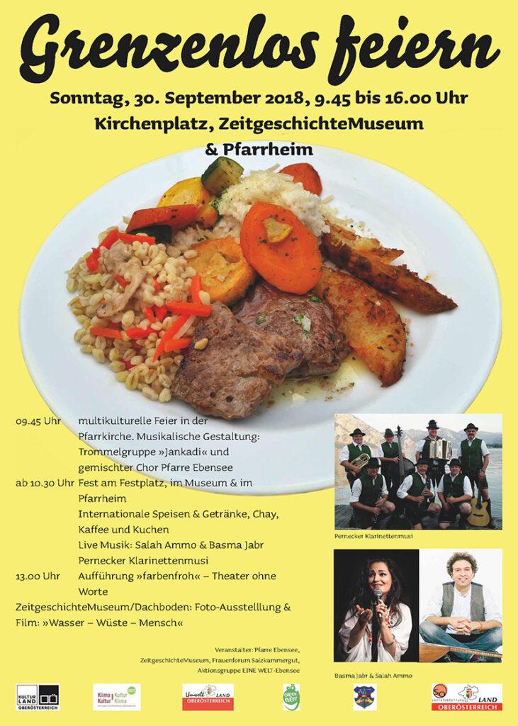 Plakat zum Begegnungsfest