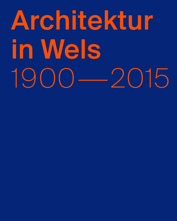 buchcover architektur in wels