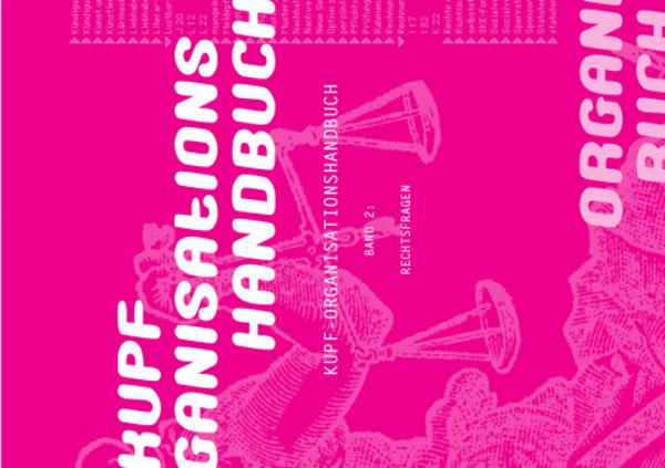 COVER KUPF Organisationshandbuch I bis III
