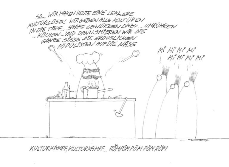 Comic von Stephan Gasser