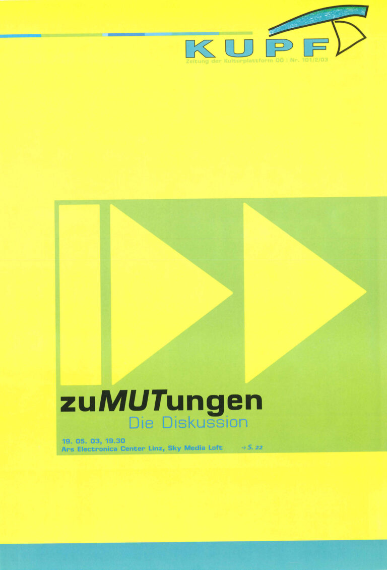 Cover KUPFzeitung #101/2003
