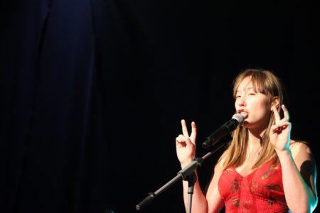 Katharina Forstner Poetry Slam by David Samhaber