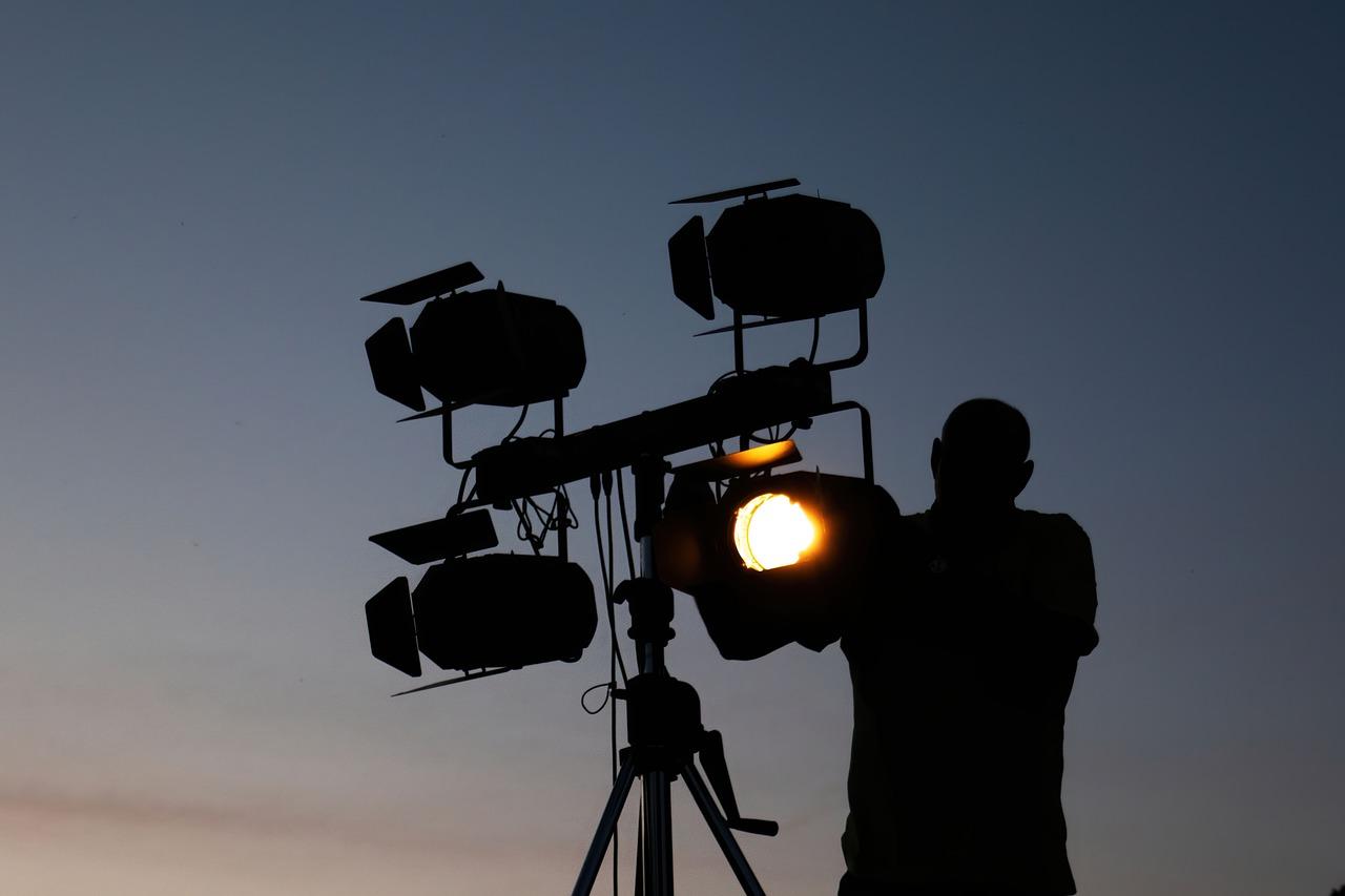Man Lighting Technician Lights  - HeikoLange / Pixabay