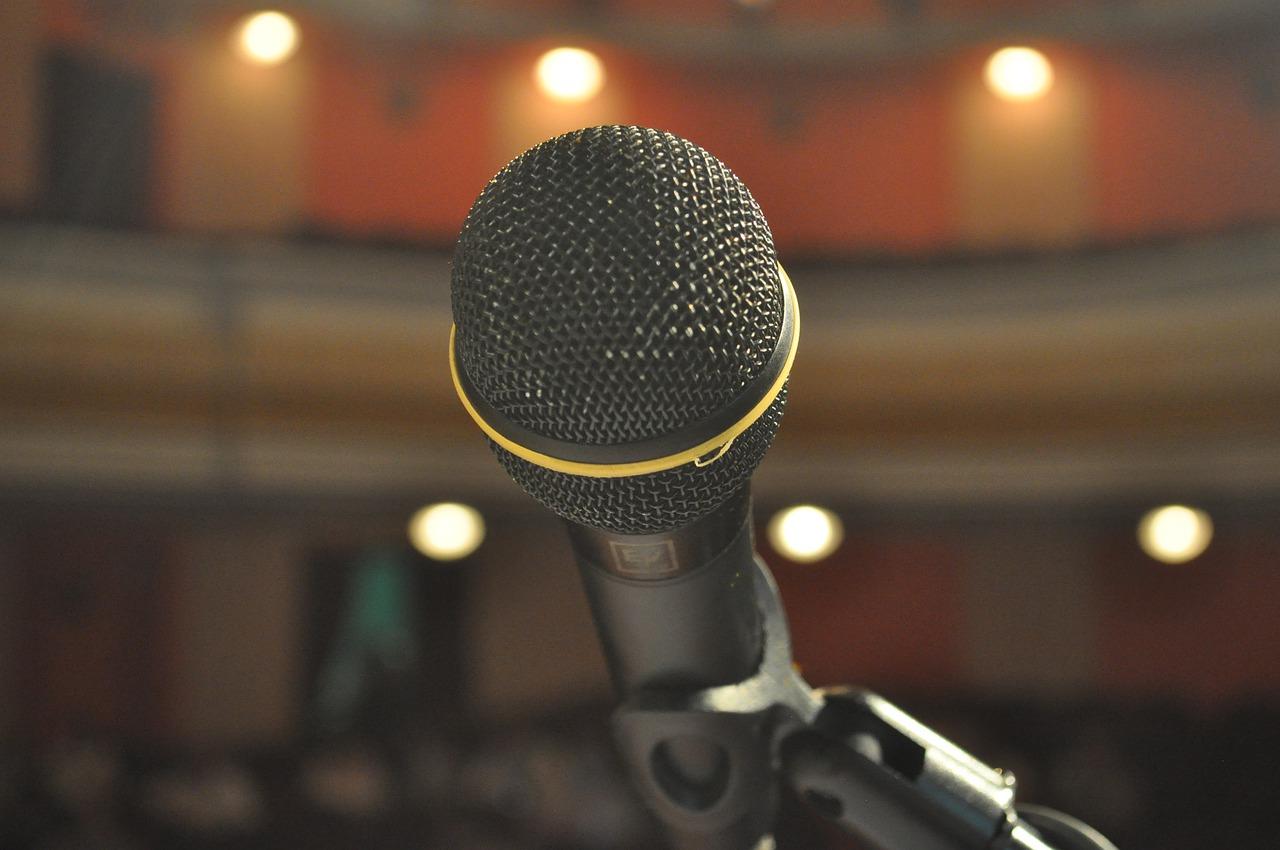 Mic Microphone Stage Audio Sound  - Mykola128 / Pixabay